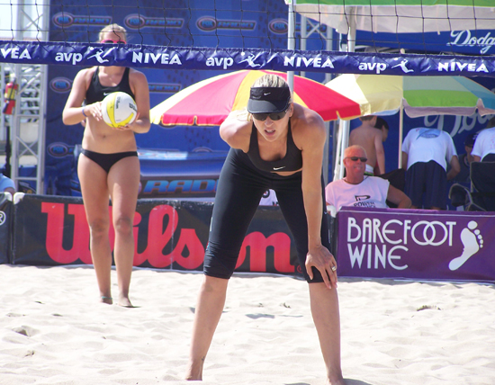 beach volleyball signals