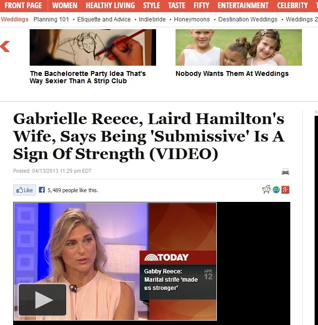 Huffinton Post Gabby Reece