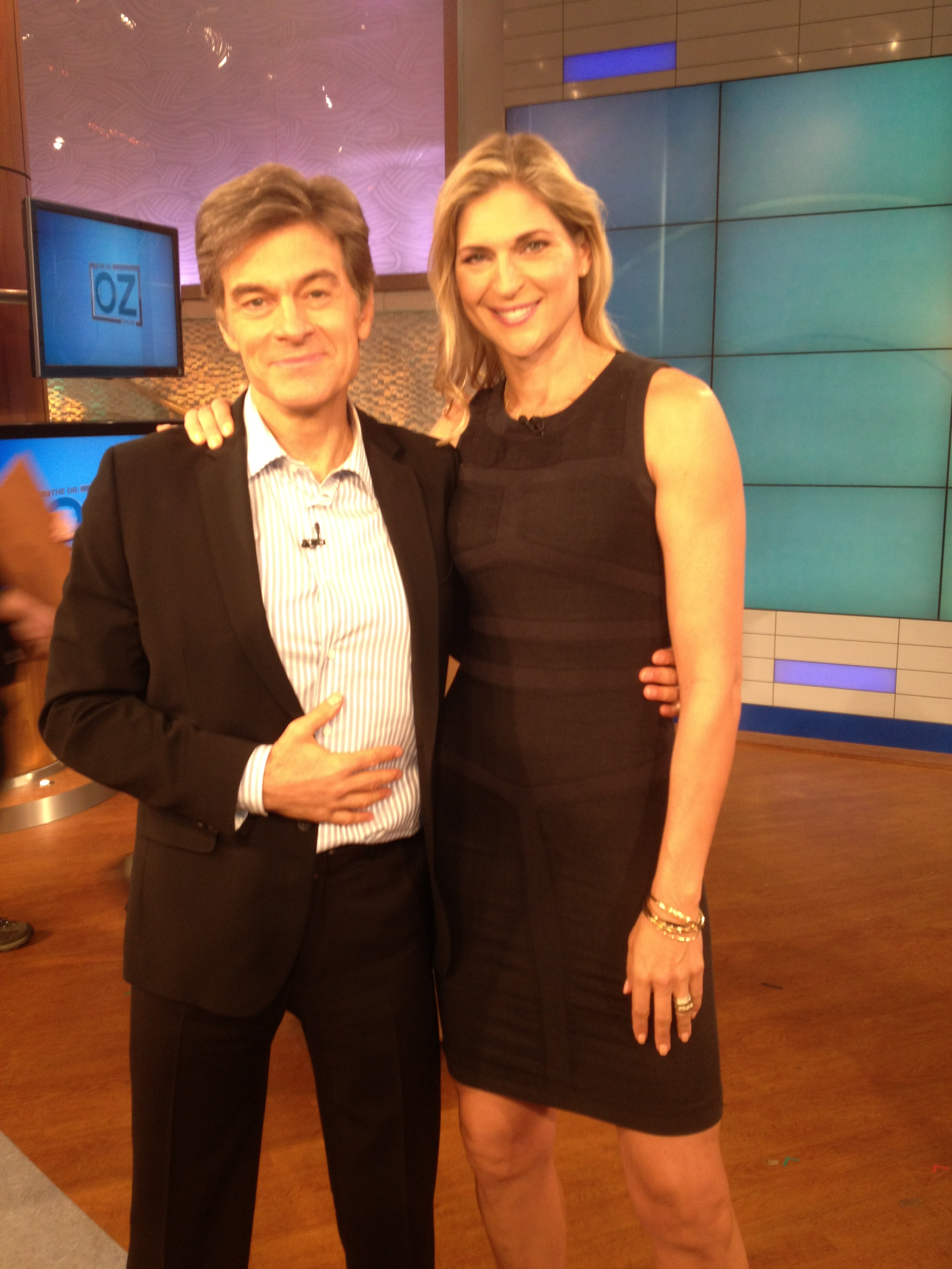 Dr. Oz and Gabby Reece