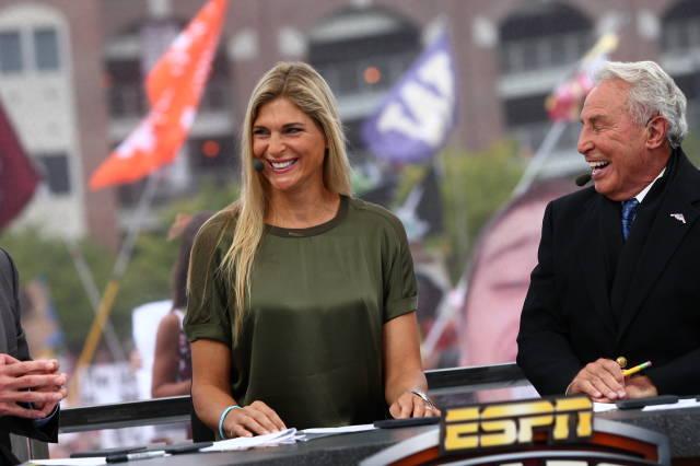 Gabby Reece ESPN College Game Day
