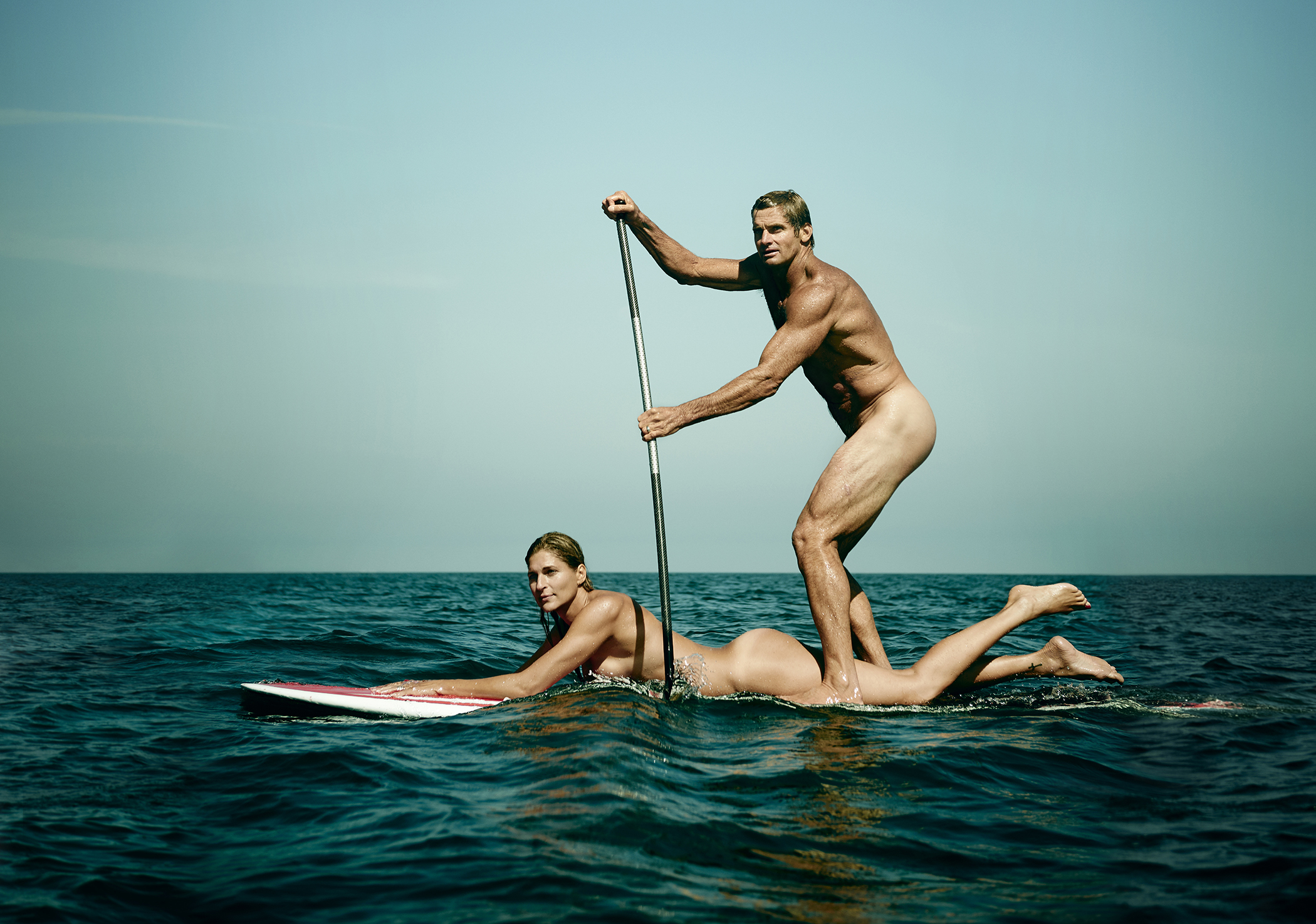 Gabrielle Reece and Laird HamiltonCREDIT: Peggy Sirota